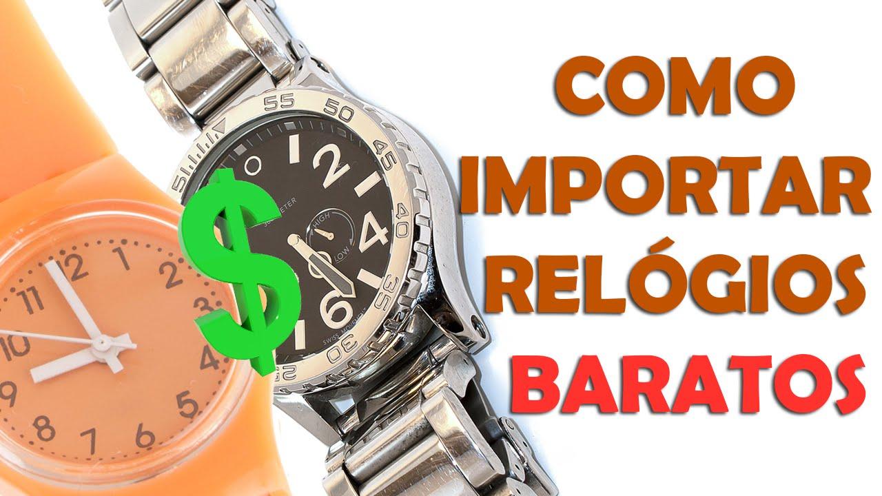 55857481610 Importar Relógios Baratos - YouTube