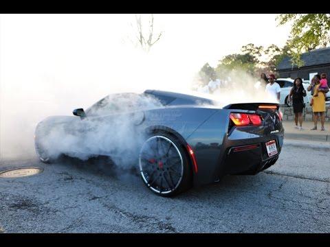 WhipAddict: Powerfest Car & Bike Show 2017, Atlanta, GA, Muscle Car, Burnouts, Custom Cars