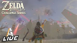 The Hyrule Castle Cleanout - Breath of the Wild Challenge Series LIVE