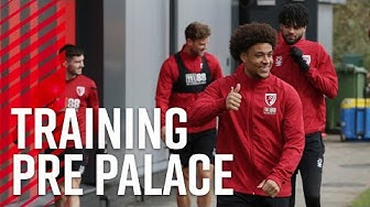 BROOKS AND DANJUMA BACK IN TRAINING 👀| Prep ahead of Palace clash!