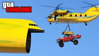 THE INCREDIBLE MAGNET CATCH! +RACING! || GTA 5 Online || PC (Funny Moments)