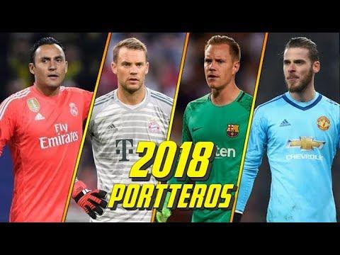 Top | Los 10 Mejores Porteros del Mundo en 2018