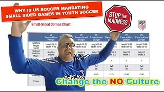 WHY IS US SOCCER MANDATING SMALL SIDED SOCCER GAMES IN YOUTH SOCCER
