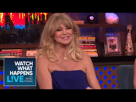 Goldie Hawn Approves of Kate Hudson And Nick Jonas' Romance? | WWHL