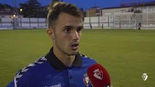 """Jose Hualde: """"Estábamos varios jugadores del Promesas, pero hemos sabido competir"""""""