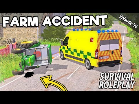 FARM ACCIDENT! THIS COULD BE SERIOUS | Survival Roleplay | Episode 50 thumbnail