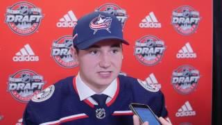 2017 NHL Draft: Pick #45 Alexandre Texier