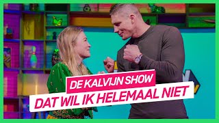 Geraldine probeert Rico te zoenen in acteerchallenge | De Kalvijn Show #6 | NPO 3 TV