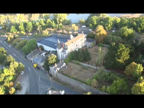Chalonnes sur Loire vue d'en haut