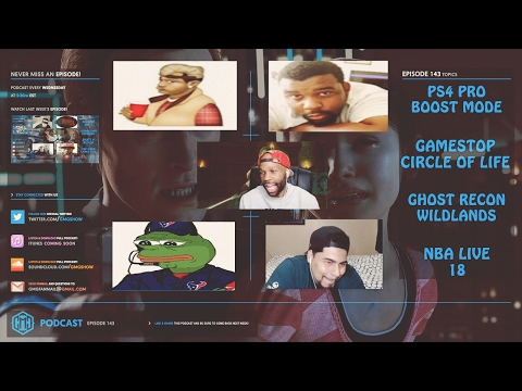 NBA LIVE 18, GHOST RECON WILDLANDS,  THE GAME OF L'S RETURNS - GMG SHOW LIVE 143