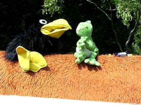 Rudi und Willi  Der Rabe und der Frosch