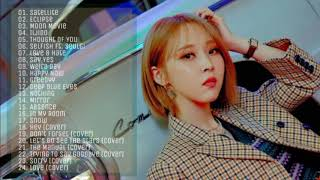 Mamamoo Moonbyul Playlist 2020 - Solo, Featuring & Cover songs