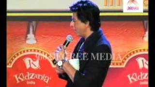 Shahrukh Khan acts like having a toothache after sipping coffee made by a child at