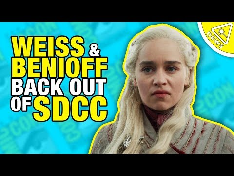 SDCC: Game of Thrones Showrunners Piss Off Fans… Again!  (Nerdist News w/ Dan Casey)
