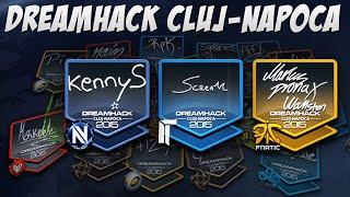 CS:GO - DreamHack 2015 Cluj-Napoca Autograph Capsule Opening