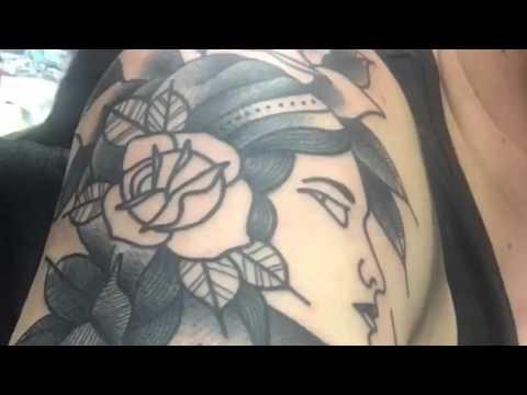 Dannii G tattoo