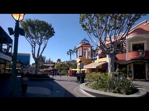 Walking in Anaheim: The GardenWalk, Downtown Disney, Fountains at Anaheim Convention Center