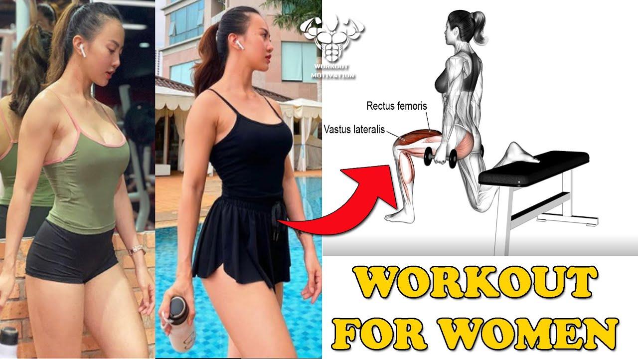 Women's Workout : 6 Exercises For Tone Body