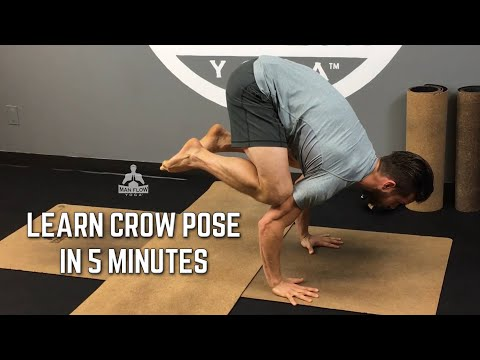 Learn Crow Pose in 5 Minutes