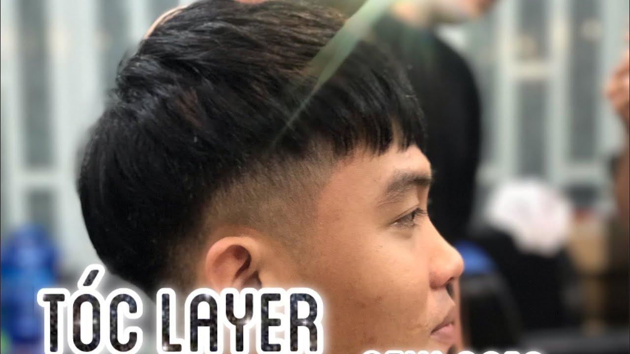 Kiểu Tóc Layer Hướng Dẫn Chi Tiết (Dạy Nghề Tóc Nam Cơ Bản) || Long BarberShop