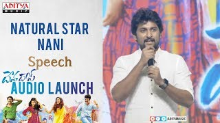 Natural Star Nani Speech @ Devadas Audio Launch || Akkineni Nagarjuna,Rashmika, Aakanksha Singh