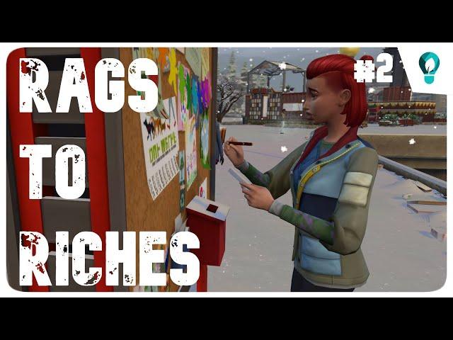 The Sims 4: Rags to Riches | ECo Lyfestyle | Közösségi szerepvállalás #2