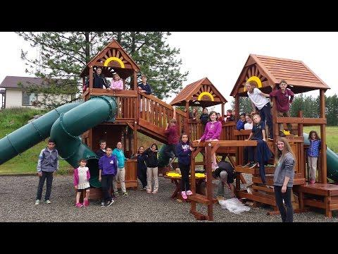 Colville Valley Junior Academy New Playground June 2015