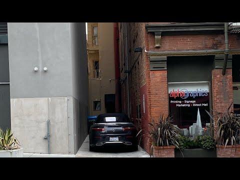 San Francisco City Streets - 4K Walk down Kearny- Financial District - Pacific Ave to Market Street