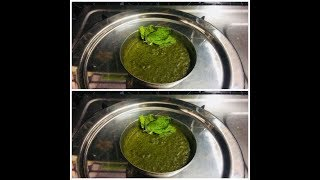 Green Chutney for chaat item recipes/Green Chutney