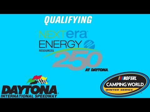 NR2003 - NOFSRL Camping World Winter Series Season 3 - Nextera Energy Resources 250 Qualifying