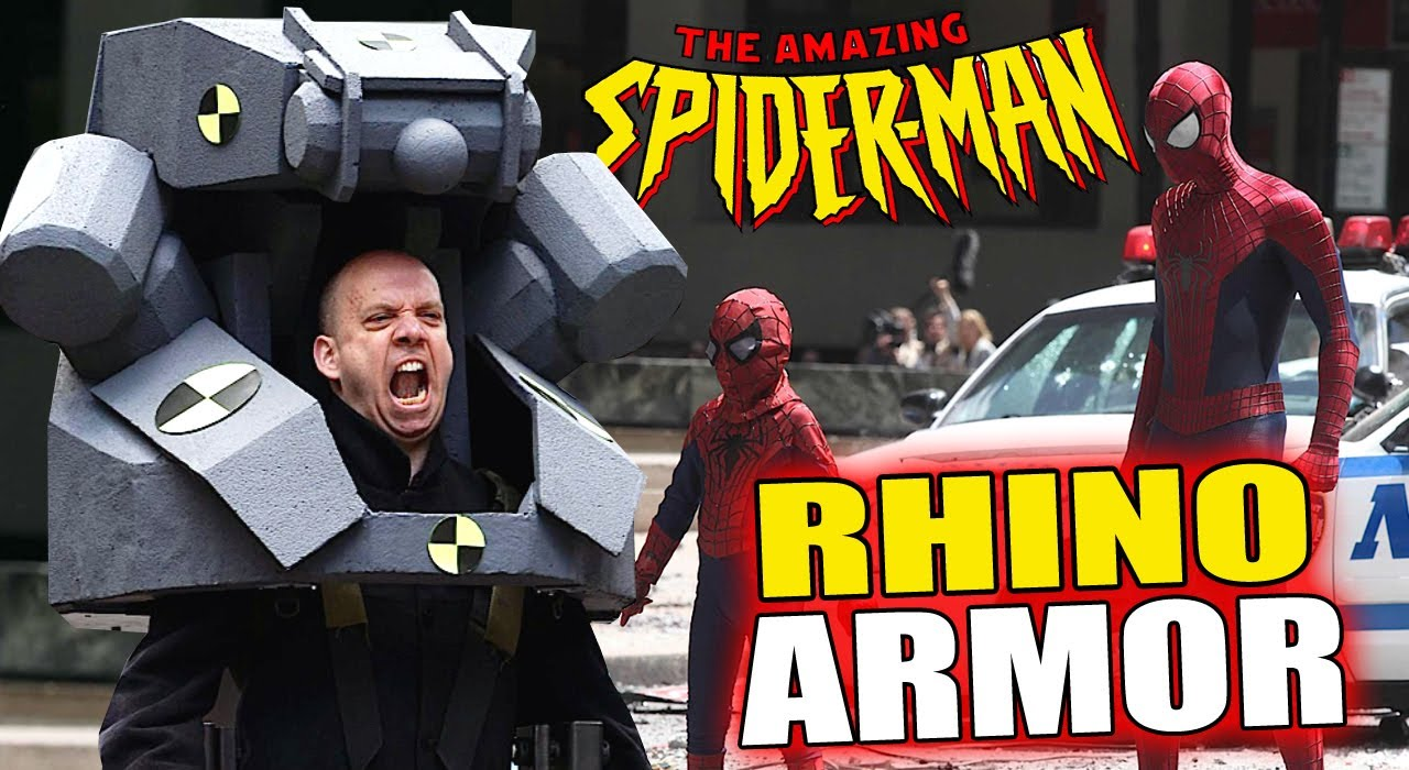 Movie Review: The Amazing Spider-Man 2 – Electric Boogaloo ... |The Amazing Spider Man 2 Rhino Suit