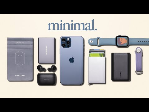 My Minimal Everyday Carry Tech 2020