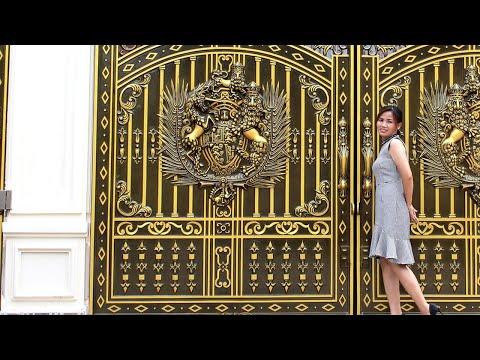 Công trình (Cửa cổng nhôm đúc) đẹp nhất Biên Hòa