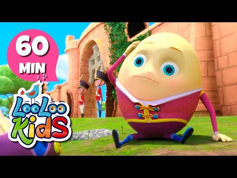 Humpty Dumpty - Wonderful Songs for Children | LooLoo Kids