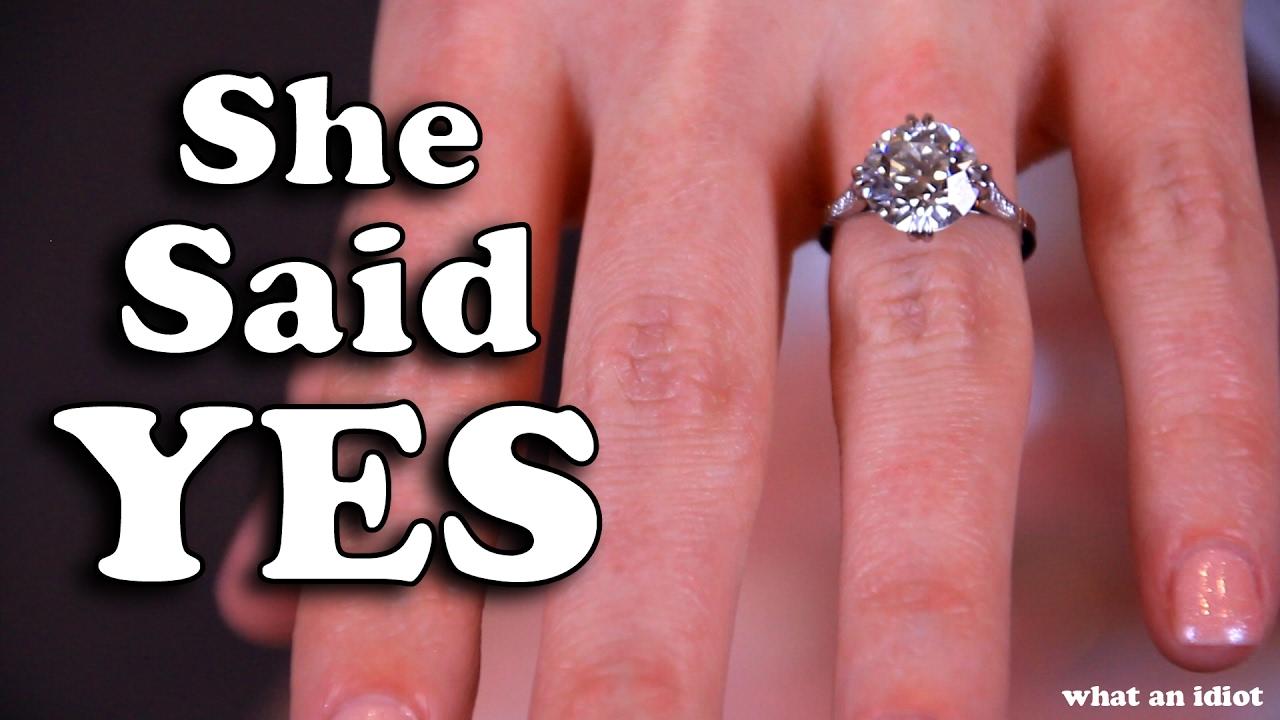 SHE SAID YES!! (JackAsk #76) - YouTube