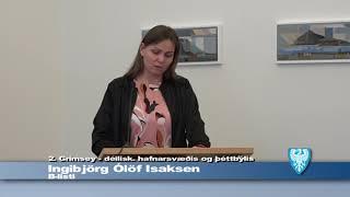 Fundur Bæjarstjórnar 10.apríl 2018