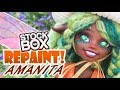 STOCK BOX Repaint! Amanita Mushroom Fairy OOAK Custom Doll