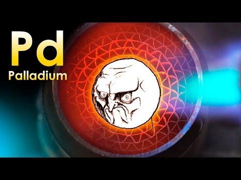 Palladium - THE NASTIEST METAL ON EARTH!
