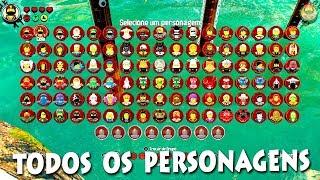TODOS OS PERSONAGENS do The LEGO NINJAGO Movie Video Game