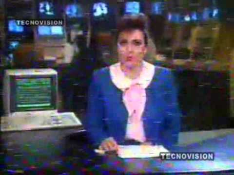 NC4  NOTICIAS CANAL 4 MULTIVISION 1991