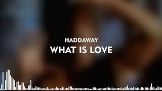 Haddaway - What Is Love (Lyrics + Indonesian)