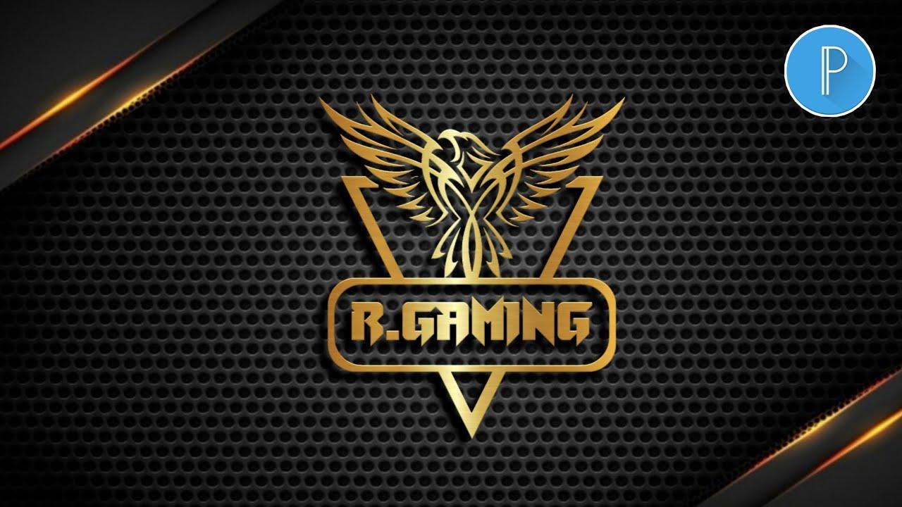 Gaming Logo Design in Android | Gaming Logo Tutorial | Pixellab Logo| Brain tech Artist