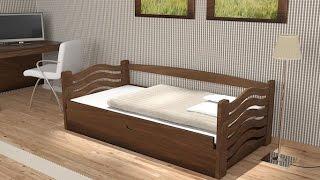 Інструкція складання ліжка з підйомним механізмом ''Колобок'' та ''Карлсон'', з натурального дерева