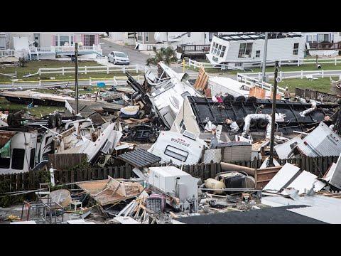 Hurricane Dorian Waterspout Devastates Emerald Isle RV Park