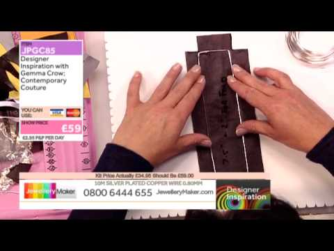 How to make genuine leather and gemstone jewellery - JM DI 22/06/15