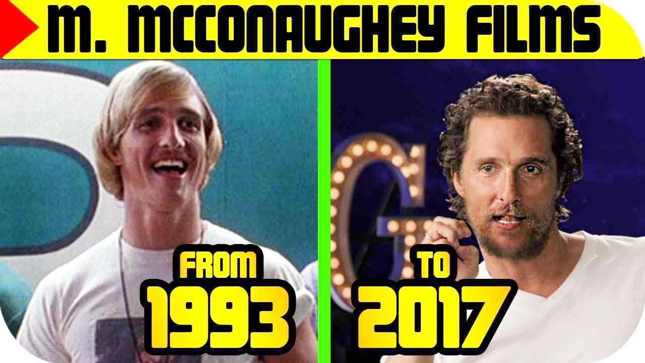 Matthew McConaughey MOVIES List 🔴 [From 1993 to 2018 ...