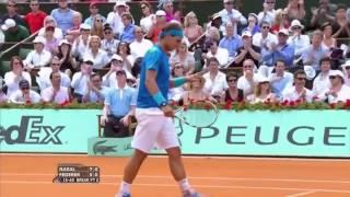 Roger Federer vs Rafael Nadal French Open 2011 Final Highlights   YouTube