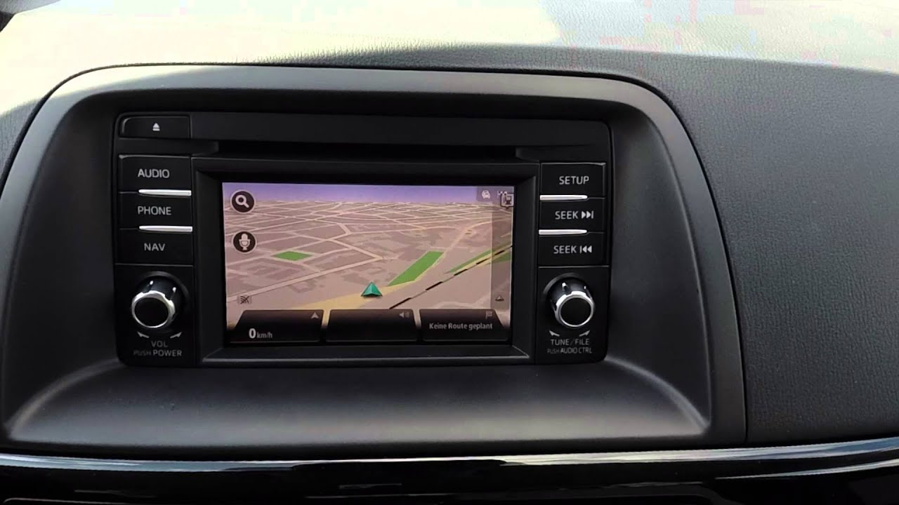 mazda cx-5 infotainment und navigation poweredtomtom im test