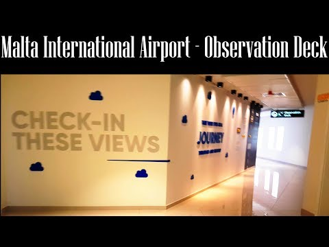 Malta International Airport - Observation Deck