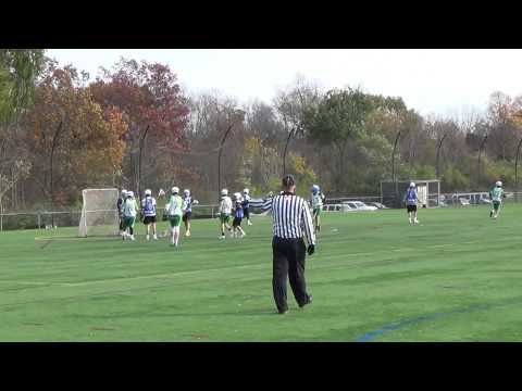 2014-11-09 Rutgers Fall Shootout: Turnpike 97/98 vs Bronxville High School Half 1